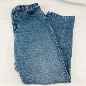Gloria Vanderbilt Straight Leg Amanda Blue Jeans